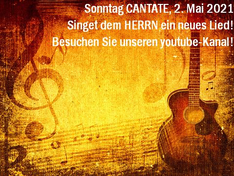 Sonntag Cantate
